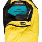 Yellow & Black Mons Peak IX Settler 15 F Sleeping Bag - 72 inches / Right