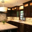 Brown Kitchens