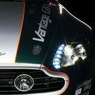 °° 2009 Aston Martin V8 Vantage GT4, image & color enhancements are by Keely VonMonski