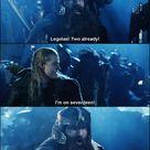 Legolas and Gimli's contest :)