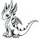 Inktober Day 1: Happy by DragonsAndBeasties on DeviantArt