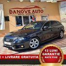 Audi A4 Revizie+Livrare GRATUITE, Garantie 12 Luni, RATE FIXE, 1800 Benzina,160 Cp,2009, Pret 6999€ – Danove Interauto