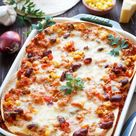 Mexikanische Enchilada Lasagne