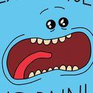 Minimal, Rick and Morty, tv show, adult swim, 720x1280 wallpaper