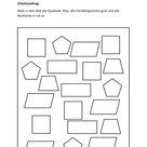 Vierecke im Matheunterricht