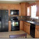 Black Appliance Kitchen