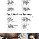 What's Your Disney Pirate Name?