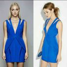 STYLE STALKER Charmed Plunged Mini Dress This gorgeous electric blue mini is perfect for any night out! Beautiful material, lined, with hidden zipper. Please see all photos carefully, as there is a tiny poke on the shoulder strap (last photo) and mark from security tag removal.  Tags: Style stalker, nasty gal, free people, for love and lemons, Zimmerman, forever 21, H&M, anthropology, topshop, top shop, asos. Stylestalker Dresses Mini