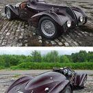 The Beauty of the 1938 Alfa Romeo 6C 2300B Mille Miglia 6C