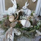 Pasqua in stile shabby chic: le decorazioni di riciclo che fanno tendenza