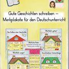 Gute Geschichten schreiben - Merkplakate für den Deutschunterricht