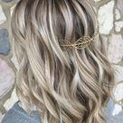 Blonde Haare mit dunklen Strähnen - 35+ Ideen und Pflegetipps! #bob-frisuren-ideen