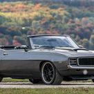 1969 Chevrolet Camaro Convertible Hides An LS7
