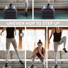 Step HIIT Workout for Lower Body - 15 Minutes   Pumps & Iron