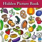 FREE Kids e-Book: Find It! {Hidden Picture Book: Food}