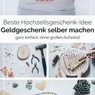 DIY Geldgeschenk zur Hochzeit basteln - Yeah Handmade