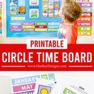 Printable Circle Time Board