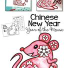 Chinese New Year Drawing Year of the Mouse Art Activity