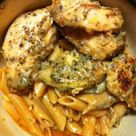 Garlic Pesto Chicken