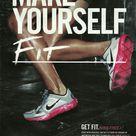 Nike Print Magazine Ads The Best 46 Nike Advertisements Print Ads Nike Ad Sports Advertising