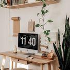 Scandinavian Home Office - Interior Design - Minimalistic - Daily Roller