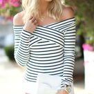 Black And White Tops