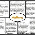 Halloween EYFS planning