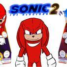 Sonic the Hedgehog Movie 2 - Knuckles PLUSH !!! Custom