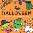 Halloween Malbuch Kinder ab 3-4 Jahren: Malbuch für Kinder ab 3 Jahren mit 30 Halloween Malvorlagen, Ausmalbildern von Geist, Hexe, Vampir, Kürbis & mehr   Malheft ab 3-4 Jahren