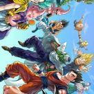 Como Desenhar Goku Super Saiyajin - Passo á Passo