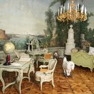 *Rococo Revisited - Bergl Rooms at Schönbrunn Palace: exotic landscape...