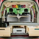 Order your Minivan camper conversion Kit for Dodge Caravan - Roadloft
