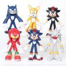 Super Figure Set 1 Sonic The Hedgehog 3-7 cm PVC Figure   Sonic Sega Shop