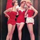 1950s Bathing Suit