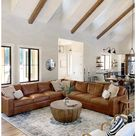 living room furniture sectional leather