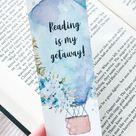 Reading Bookmark Printable – On Book Street