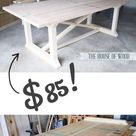 Farm Table Diy
