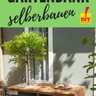 Gratis Anleitung Baumbank selber bauen – mit Schattenspender