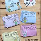5 Minute Teacher + Warm-Ups für den Englischunterricht / Materialpaket 1-6 – Unterrichtsmaterial in den Fächern Englisch & Fachübergreifendes