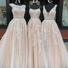 Long Prom Dresses with Applique and Beading,8th Graduation Dress School Dance Winter Formal Dress - Custom Size / Royal Blue