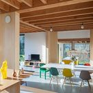 Eames® Molded Plastic Side Chair - Wood Dowel Base