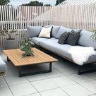 Lounge Ecke auf der Terrasse