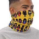 Black Superhero Face Cover