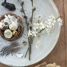 natürliche ostern   Wunderschön gemacht