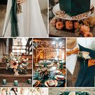 Trends for 2021- 8 Different Rust-Colored Wedding Palettes to Inspire - Elegantweddinginvites.com Blog