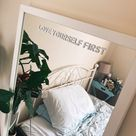 Love Yourself First Mirror Decal - Shop Selfmade