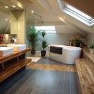 Praktische Badezimmer mit Dachschräge   die aktuellsten Designs