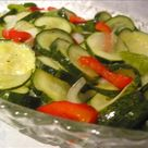 Freezer Pickles