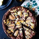 Birnen Brownie Rezept