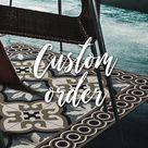 custom order for Beatrice